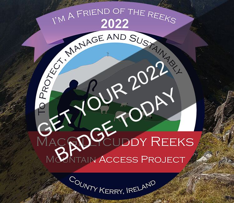 Become a Friend of The Reeks