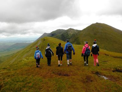 walking on carrauntoohil 5