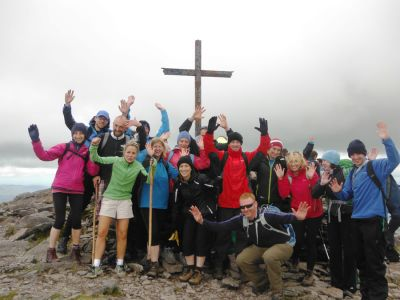 walking on carrauntoohil 7